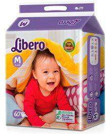 Libero Open Diapers Medium - 60 Pieces