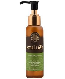 SoulTree Brahmi And Amla Hair Oil - 120 ml