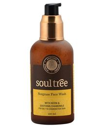 SoulTree Nutgrass & Neem Face Wash - 120 ml