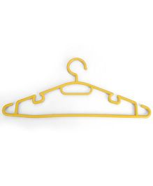 Cloth Hanger - Yellow
