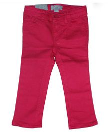 Piperz Full Length Denim Pants - Pink