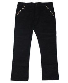 Piperz Full Length Trousers - Dark Grey