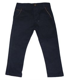 Piperz Full Length Pants - Dark Blue