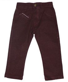 Piperz Full Length Pants - Rusty Brown