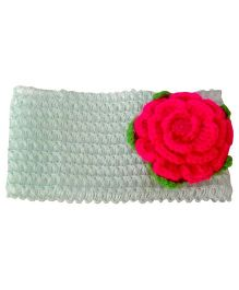 My World Of Crochet By Neelam Crochet Headband - Green
