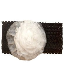 My World Of Crochet By Neelam Crochet Headband - Black