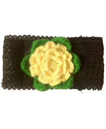My World Of Crochet By Neelam Crochet Headband - Black
