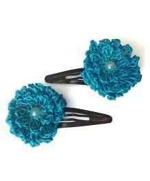 My World Of Crochet By Neelam Crochet Flower Tic Tac - Light Blue