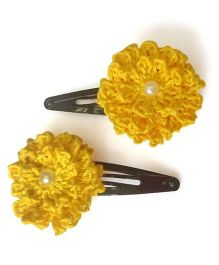 My World Of Crochet By Neelam Crochet Flower Tic Tac - Yellow