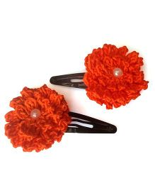 My World Of Crochet By Neelam Crochet Flower Tic Tac - Orange