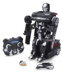 Turboz Transforming Car cum Robot - Black