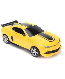 Turboz Transforming Car cum Robot - Yellow