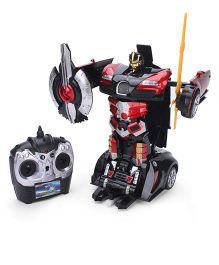 Turboz Transforming Car cum Robot - Red