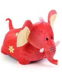 Dimpy Stuff Elephant Baby Seat - Peach