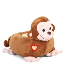 Dimpy Stuff Monkey Seat With Support - Brown