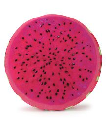 Dimpy Stuff Dragon Fruit Cushion with Support Foam - Pink