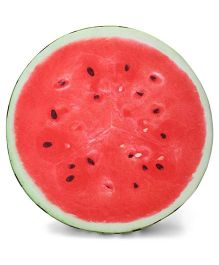 Dimpy Stuff Water Melon Cushion With Support Foam - Red