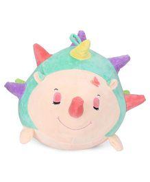Dimpy Stuff Hedgehog Soft Toy Sea Green - 38 cm