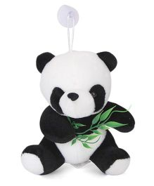 Dimpy Stuff Sitting Panda Soft Toy Black And White - 8 inch