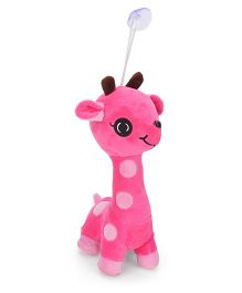 Dimpy Stuff Giraffe Soft Toy Pink - 10 Inches