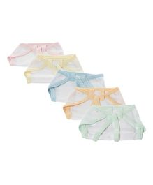 Tinycare Cloth Nappy String Tie Up Newborn - Set Of 5