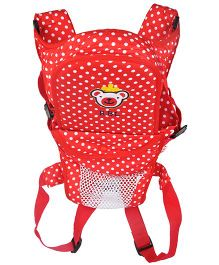 Kiwi 3 Way Baby Carrier Polka Dots - Red