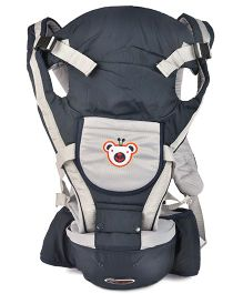 Kiwi 3 Way Baby Carrier Plus Hip Seat - Blue & White