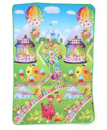 Sindhu Baby Play Mat Circus And Number Theme - Multicolor