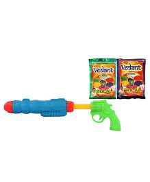 DealBindaas Holi Water Squirter AO2020 With Gulaal Assorted Colour