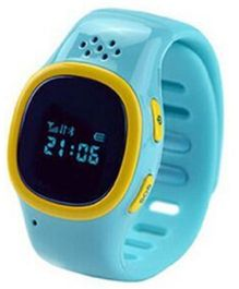 Findme Kids Watch Cum Mobile And GPS Tracker - Blue