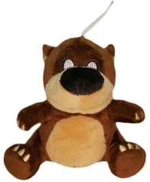 Soft Buddies Jungle Book Baloo Clip On Toy - Brown