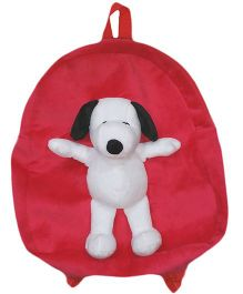 Soft Buddies Snoopy Soft Toy Bag - Pink