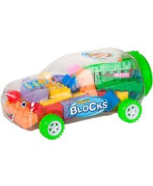 Magic Pitara Building Blocks With Car Shaped Storage Jar