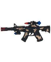 Magic Pitara Machine Gun Toy - Black