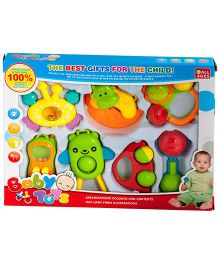Magic Pitara Rattler Set 7 Pieces (Colors May Vary)