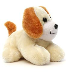 Acctu Toys Sitting Puppy Soft Toy Off White - 20 cm