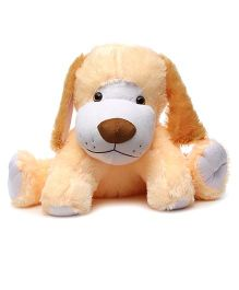 Accto Toys Dumpy Dog Soft Toy - Peach