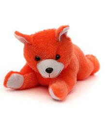 Acctu Toys Lying Teddy Bear - Orange