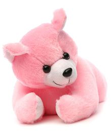 Acctu Toys Lying Teddy Bear - Pink