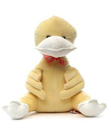 Acctu Toys Gently Duck Soft Toy - Peach