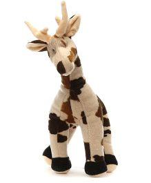 Acctu Toys Deer Soft Toy - Brown And White