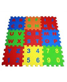 Ultimate Alpha Numeric Puzzle Mats - 9 Pieces