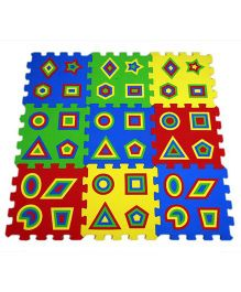 Ultimate Goemetric Puzzle  Mat - 9 Pieces