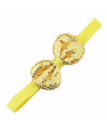 Bellazaara Trendy Headband For Little Girls - Yellow