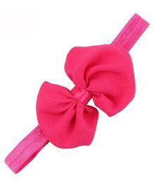 Bellazaara Trendy Headband For Little Girls - Hot Pink