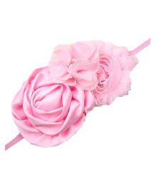 Bellazaara Trendy Headband For Little Girls - Pink