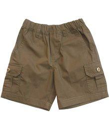 Campana Cargo Shorts- Dark Brown