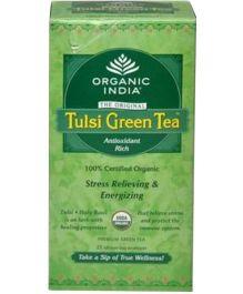 Organic India Tulsi Green Tea - 25 Tea Bags