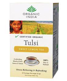 Organic India Tulsi Sweet Lemon Tea - 18 Tea Bags