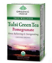Organic India Tulsi Pomegranate Tea - 18 Tea Bags